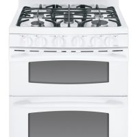 GE Gas Double Oven Range