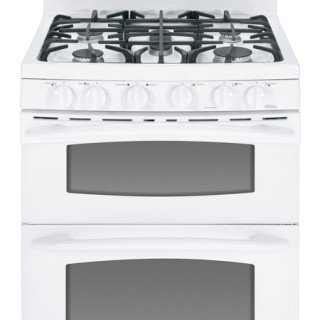 GE Gas Double Oven Range