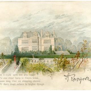 Manor House Image – Tennyson's Home