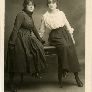 Old Photograph Sisters