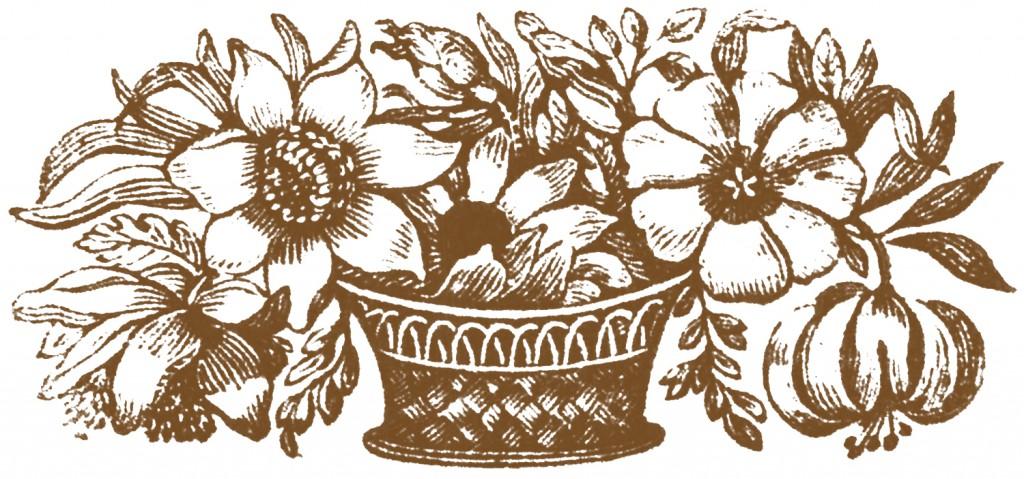 Public Domain Images Flower Basket