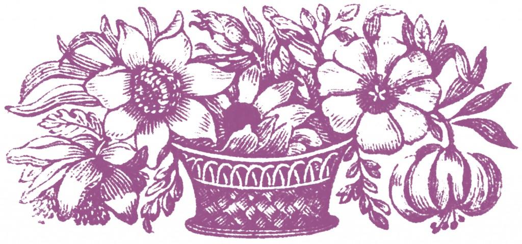Public Domain Images Floral Basket
