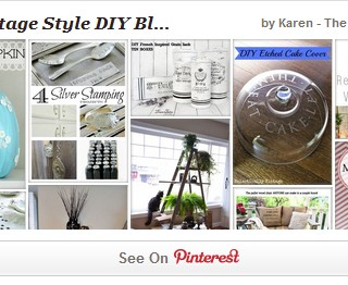Top Vintage Style DIY Bloggers Pinterest Board