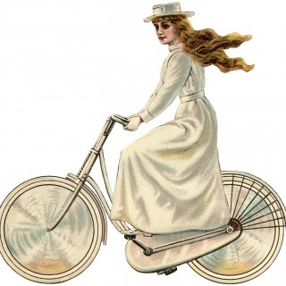Vintage Bicycle Girl – Edwardian