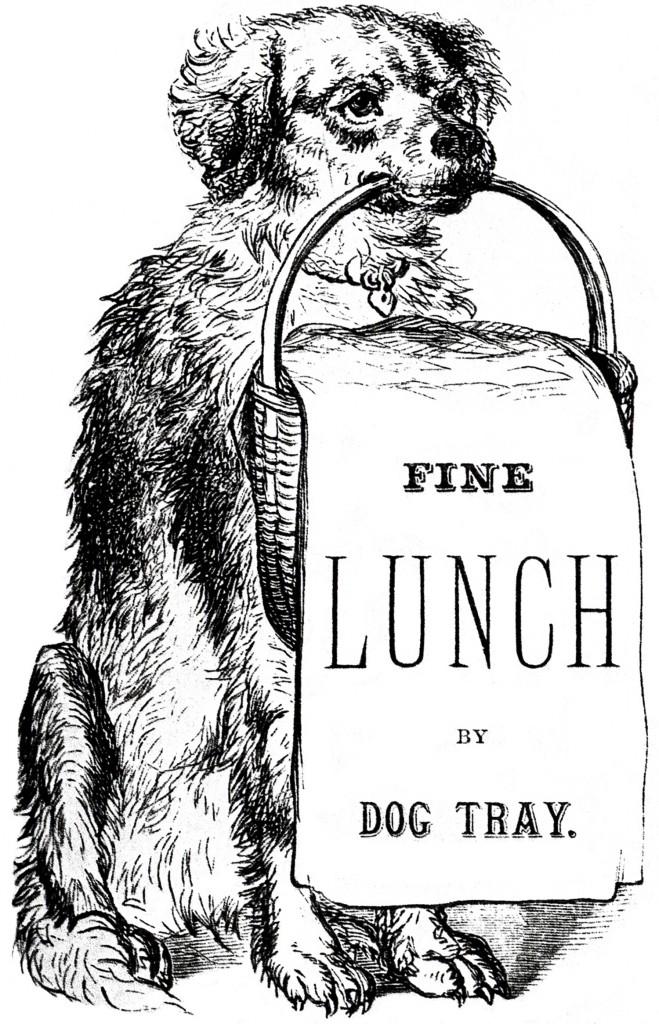 Vintage Dog Images Labels