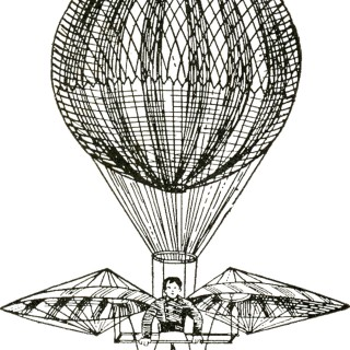 Vintage Images – Hot Air Balloons – Steampunk