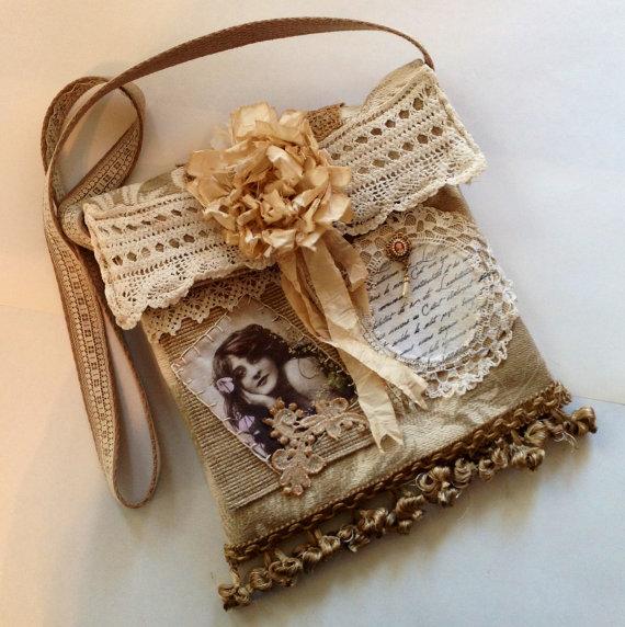Vintage iPad Bag