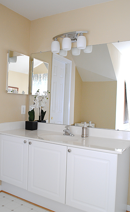 Best Paint Colors For Bathroom best paint colors - master bathroom reveal! - the graphics fairy