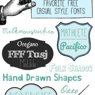 Free Casual Style Fonts