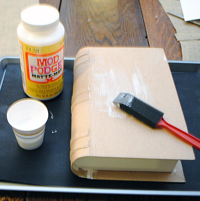 Make a Burlap Box