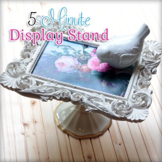 DIY Easy Pedestal Stand