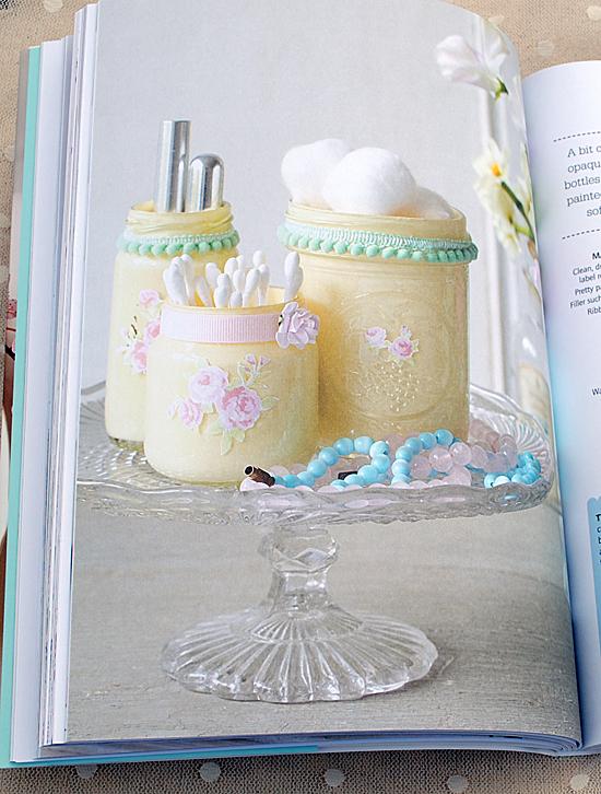 Tinkered Treasures Painted Jars