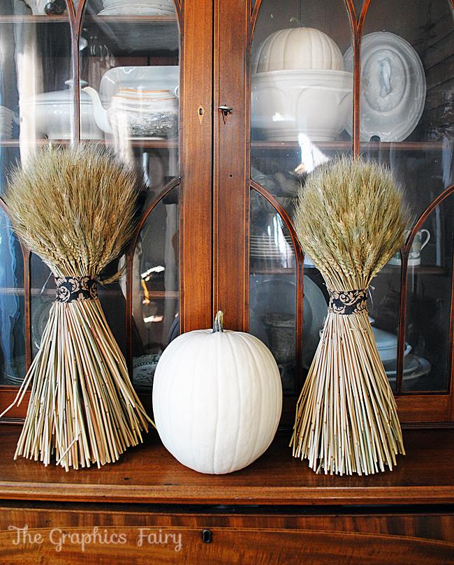 Fall Decor Wheat Stalks