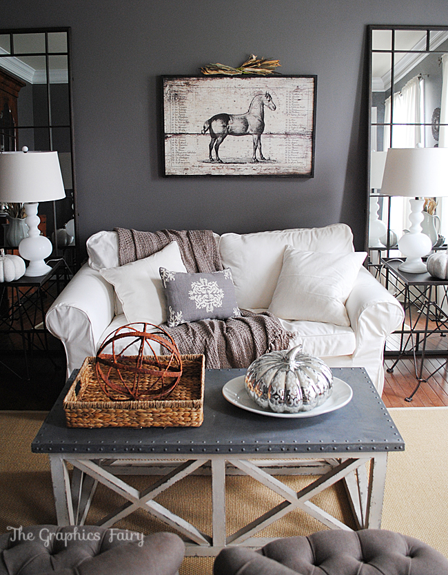 Finding Fall Home Tour With Bhg Our Fall Decor The Graphics Fairy