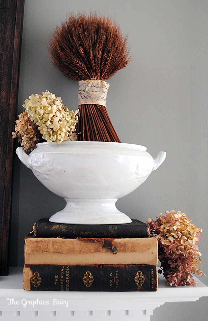Fall Mantel Wheat Bundle
