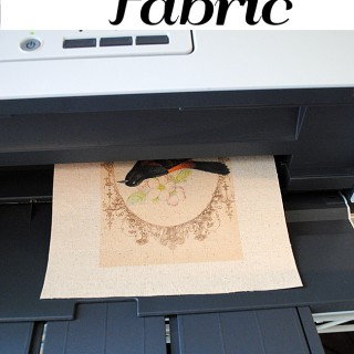 How to Print on Fabric – Freezer Paper Method