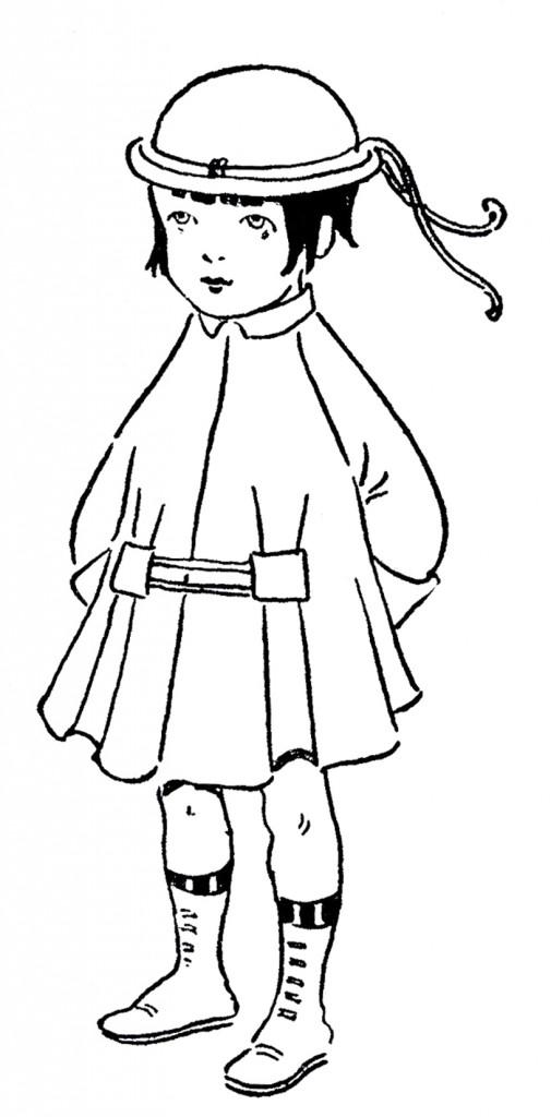 Printable Flapper Girl