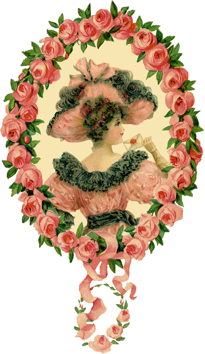 http://thegraphicsfairy.com/wp-content/uploads/2013/09/Romantic-Lady-Floral-Frame-Image-GraphicsFairy3.jpg