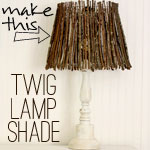 Twig Lampshade