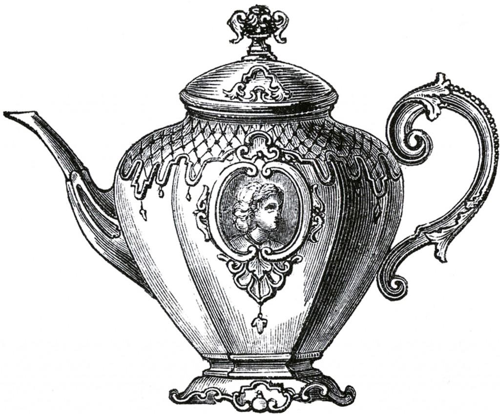 Victorian Teapot Image