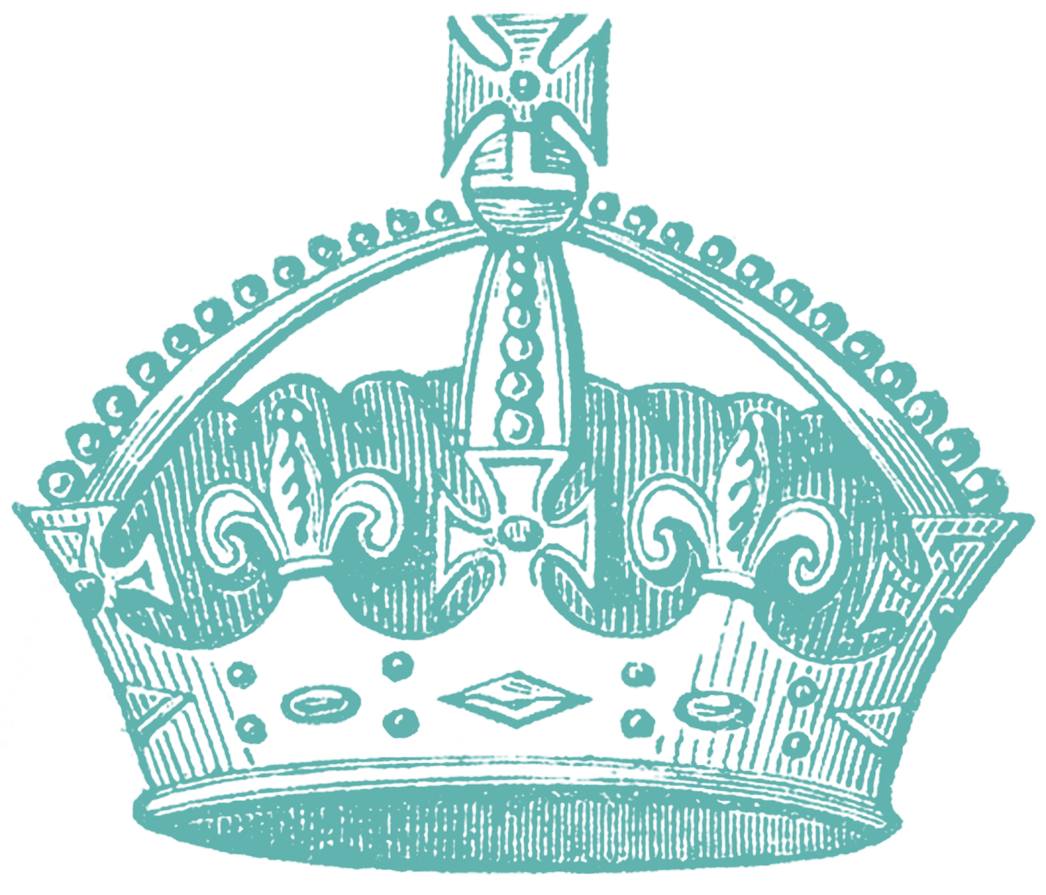 Vintage Crown Images 4 Options The Graphics Fairy