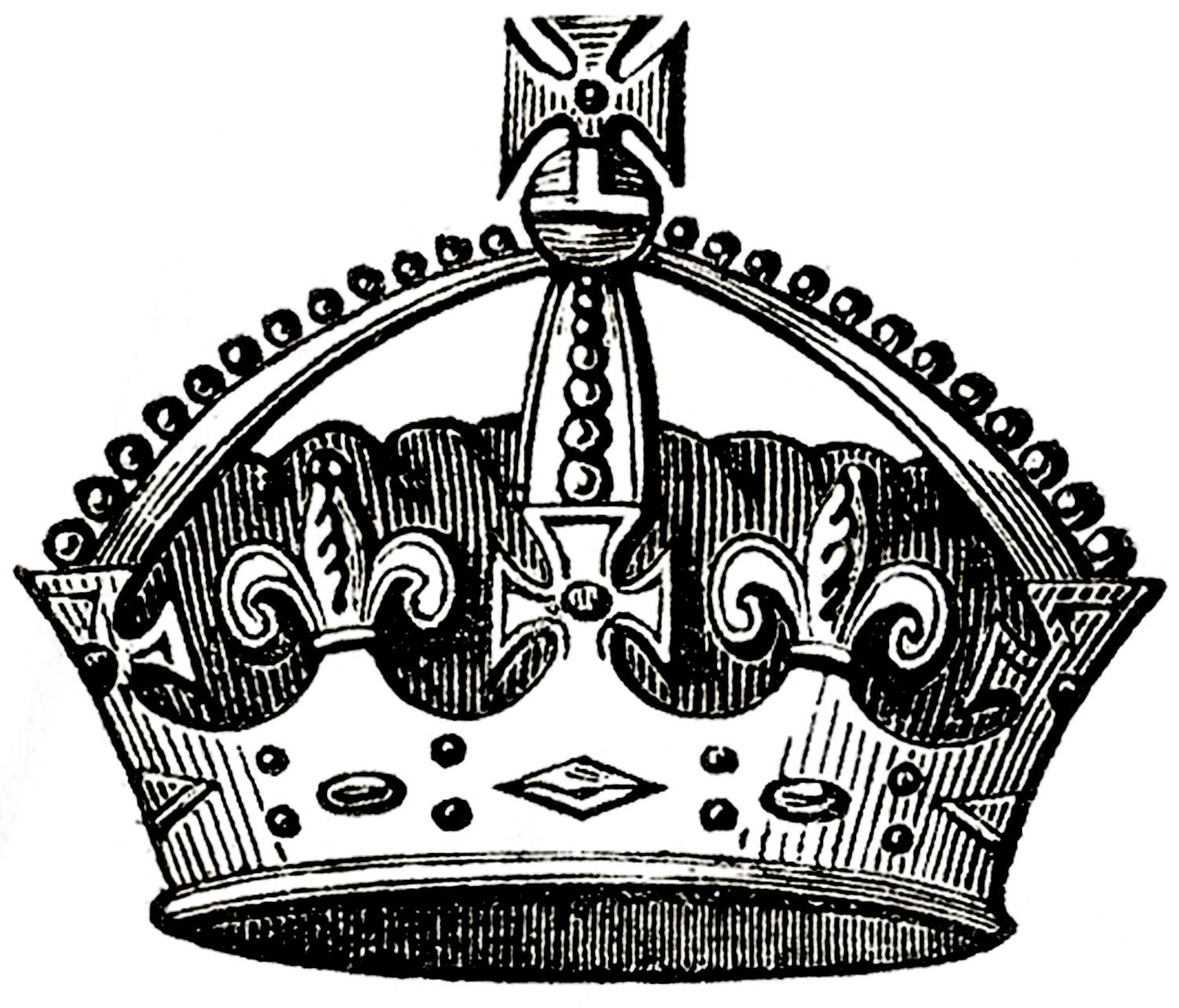 vintage crown images 4 options the graphics fairy crown clipart simple crown clipart simple