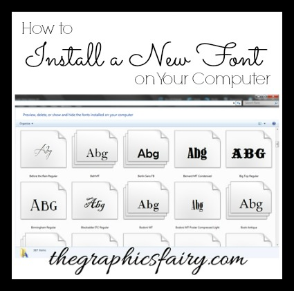 graphics-fairy-install-font