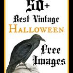 50+ Best Free Vintage Halloween Images!
