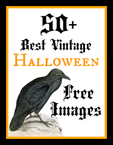 Vintage  Best Vintage Halloween Images