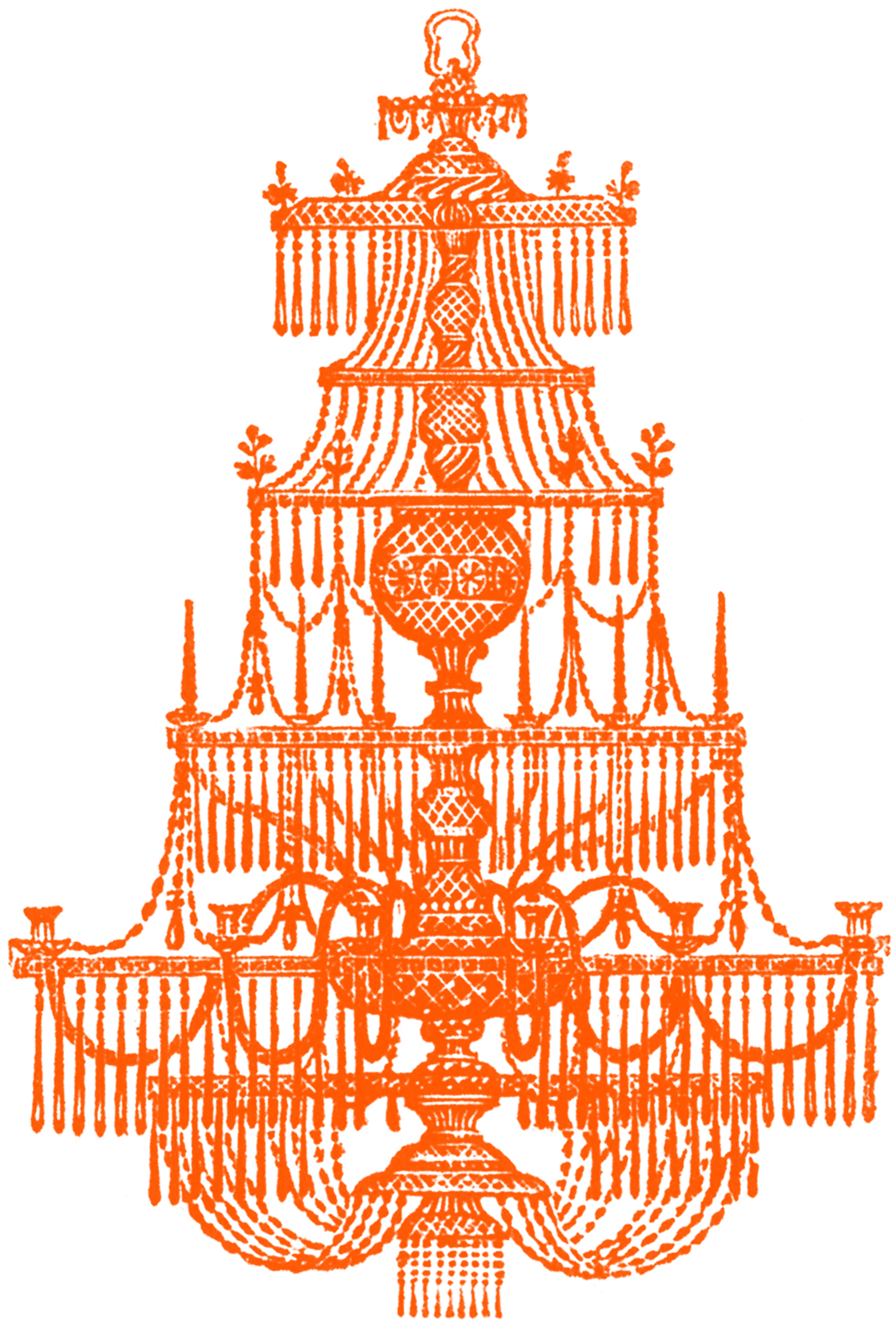 Vintage halloween pictures chandeliers the graphics fairy - Pictures of chandeliers ...