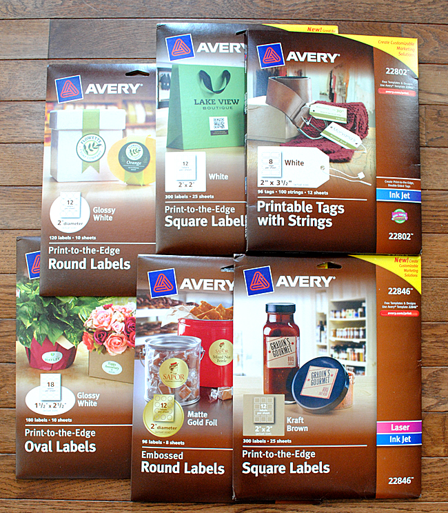 Avery Labels and Tags