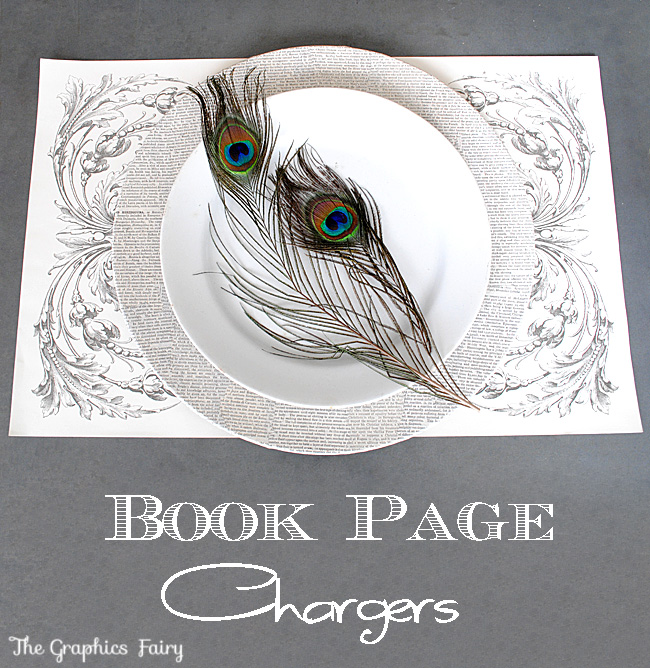 Book Page Crafts Tutorial