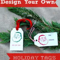 Design Your Own Holiday Tags