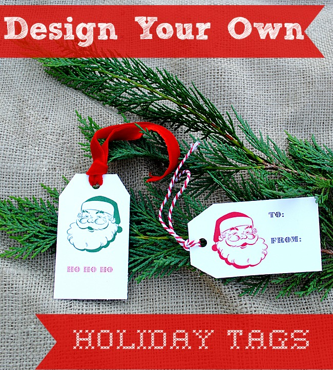 Design Your Own Holiday Tags & A GIVEAWAY
