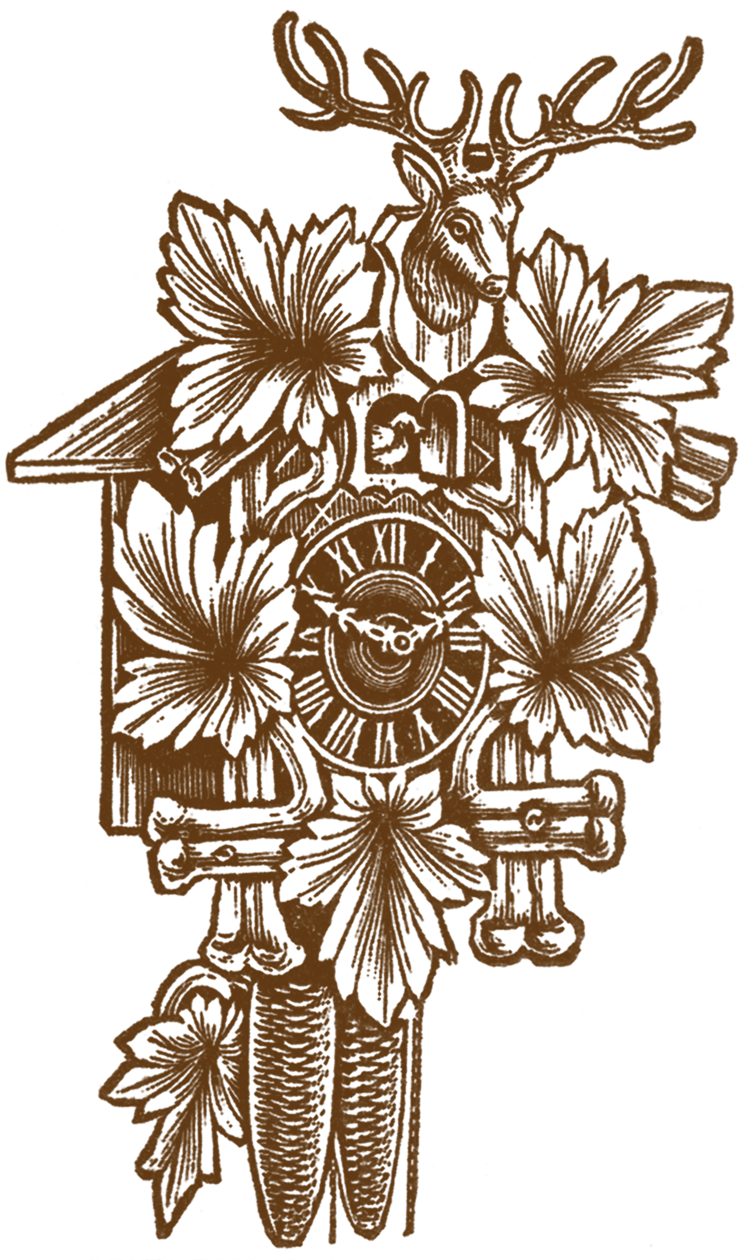 Cuckoo Clock Pictures - The Graphics Fairy