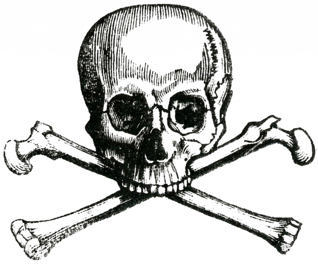 Early Skull and Crossbones Image