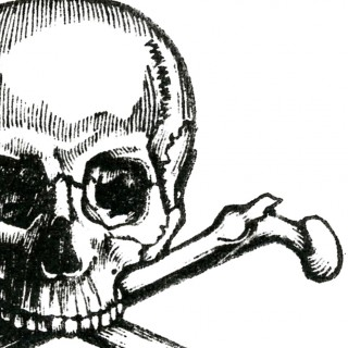 Early Halloween Image – Skull and Crossbones