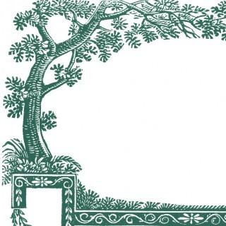 Free Antique Labels – Trees – 4 Colors