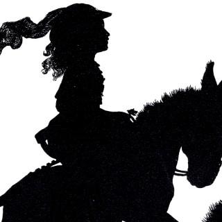 Free Silhouette Vectors – Girl – Animals