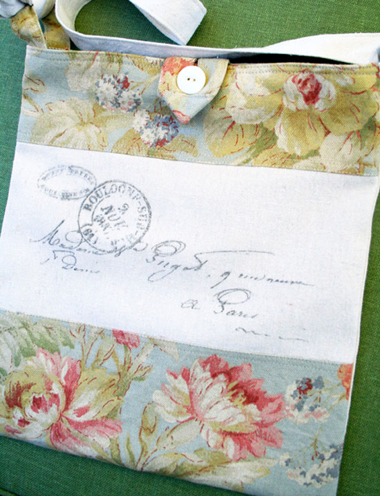 French Letter Postmark Tote Bag - Reader Featured Project