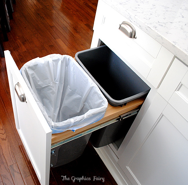 Kitchen Design Trash bin