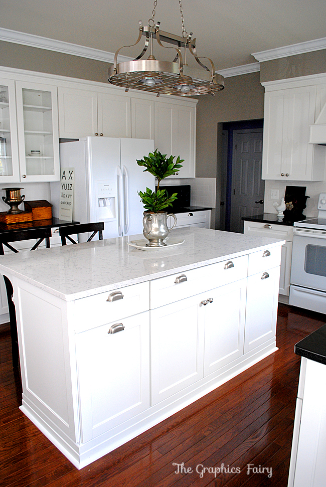 Kitchen Remodel Silestone Marble look