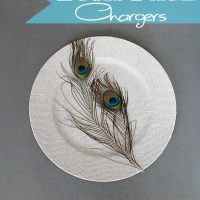 Book Page Crafts Chargers