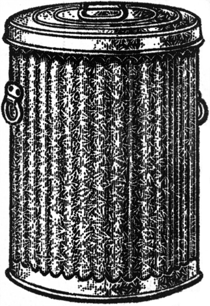 Trash Can Clip Art Images Metal