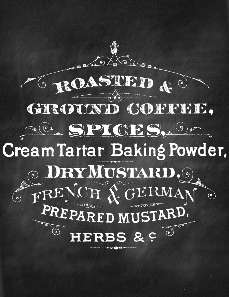 Printable Chalkboard Sign Coffee