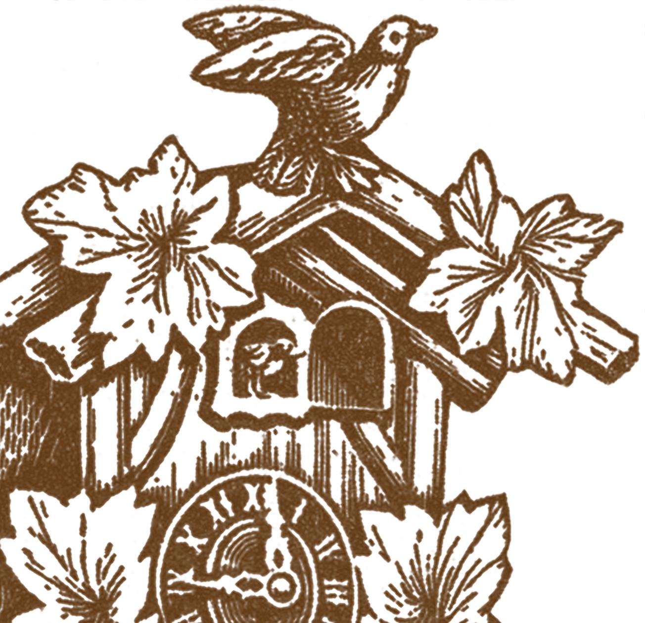 Vintage Cuckoo Clock Images