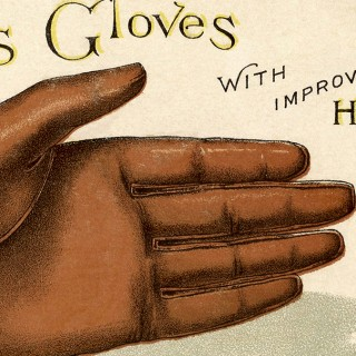 Fun Vintage Leather Gloves Image
