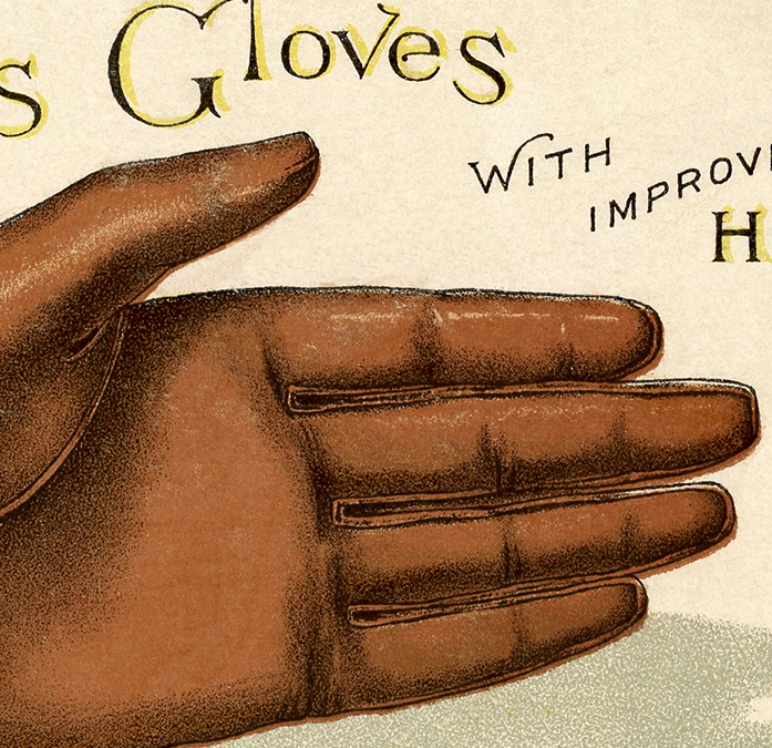 Fun Vintage Leather Gloves Image The Graphics Fairy