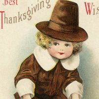 Vintage Pilgrim Boy Image