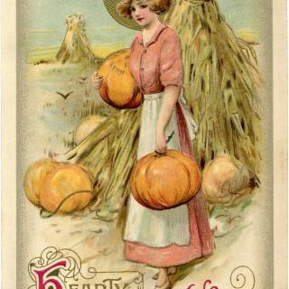 Vintage Thanksgiving Image